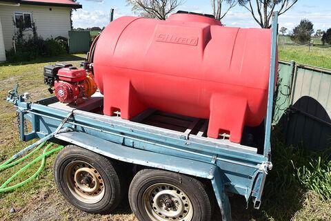 Silvan Fire Tank, 1000 litres