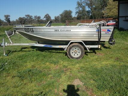Quintrex Eclipse 385 Aluminium Boat
