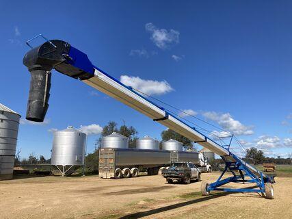 2003 Brandt 1575 Grain Belt Conveyor