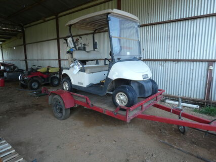 Golf Buggy & Trailer