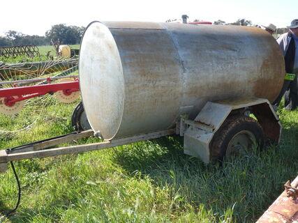 Diesel Tank on Wheels