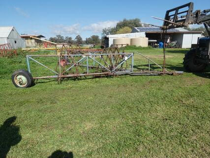 Wheeled Harrow Bar