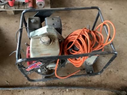 6kva 200 amp generator welder