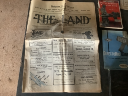 1917 - 1968 special Land field day edition