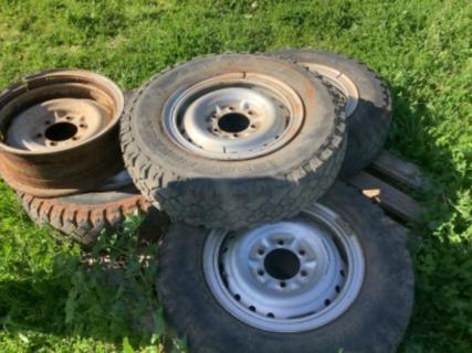 Hilux tyres rims