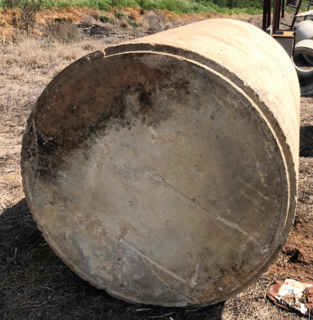 CEMENT SEPTIC PIT