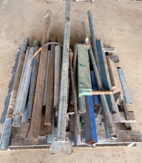 ASSORTED STEEL PIPE