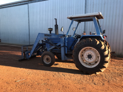 Iseki Tractor With Front End Loader