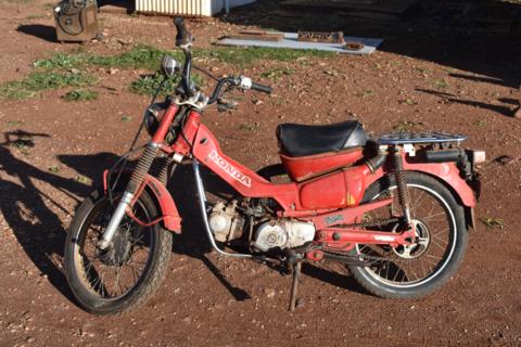 Honda 110 Postie bike