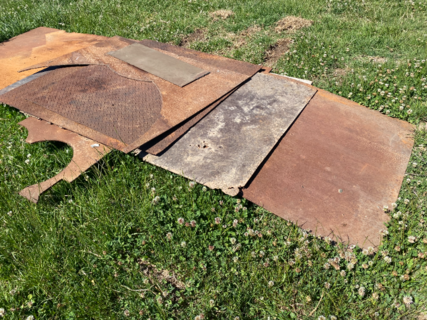 QUANTITY OF STEEL PLATE