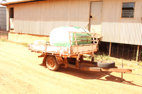 Rapid Spray trailer