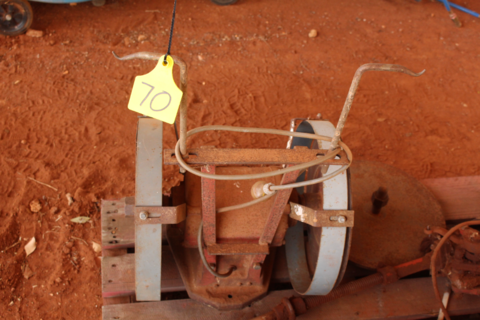 Sunbeam grinding wheel