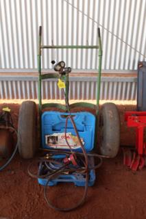 Oxy trolley/ equipment