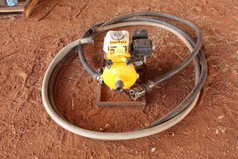 Davey firefighter pump and hose