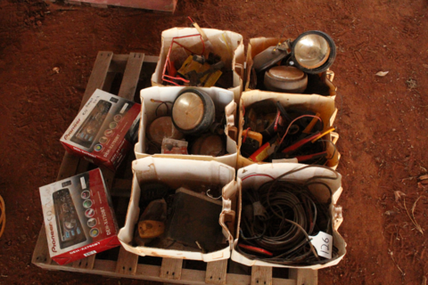 Assorted auto electrical