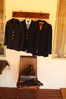 Equestrian clothing items