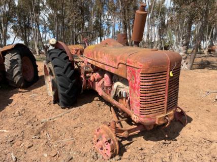 McCormick Deering W9 Tractor