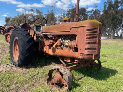 McCormick Deering W4 Tractor