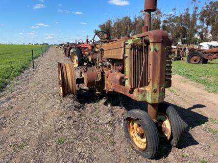 John Deere G Model Tractor