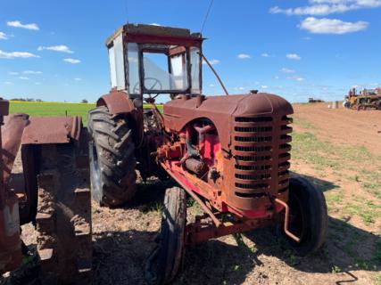 Massey Harris 55D Tractor