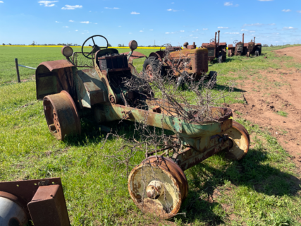 Oliver Tractor Chassis