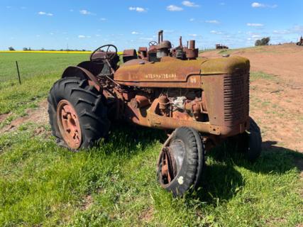 McCormick W4 Tractor