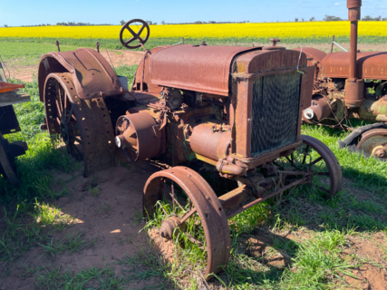 John Deere D Model Tractor