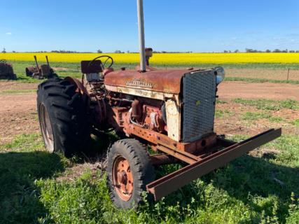McCormick Deering 554 Tractor
