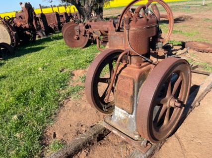 Bartram Stationary Engine No. 167