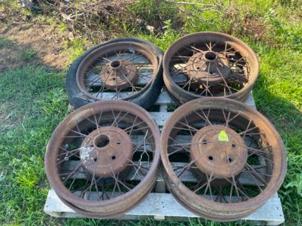 Miscellaneous Vehicle Rims x4