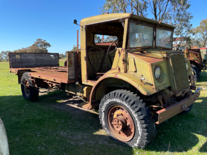 Ford Canadian Army Tray Truck