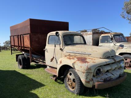 Ford Truck Grain Bin
