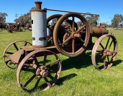 Big Austral Oil Engine Hot Bulb No. 1860