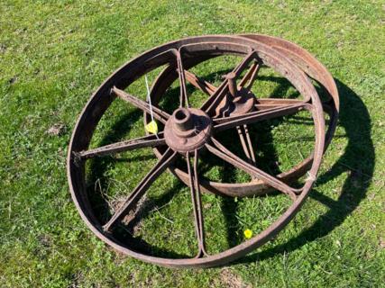 """1x 3' Wheel & 1x 2' 3"""" Wheel"""