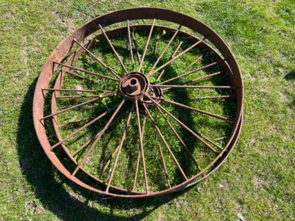 2x 4' Wheels