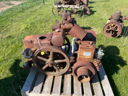 Moffat Virtue, Jap Air Cooled & Ruston Horsnby Model pb 3hp Stationary Engine