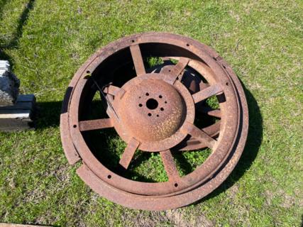 "2x Lanz Bulldog 2' 8"" Wheels"