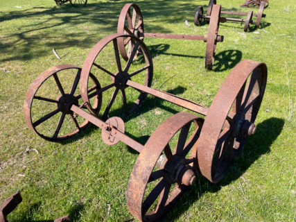 2x Axle Hornsby Transport Wheels