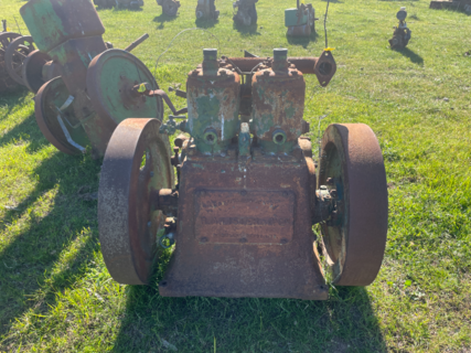 Twin Cylinder Lister Stationary Engine