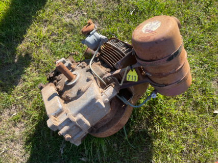 BSA Air Cooled Motor