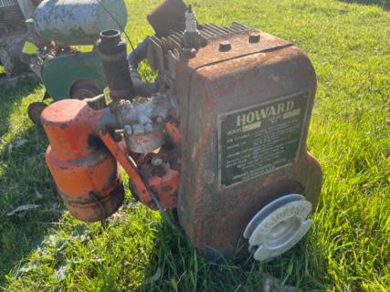 Howard Air Cooled Motor