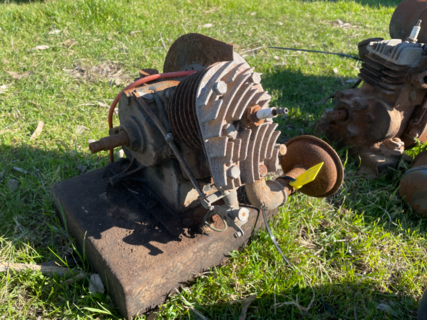 Air Cooled Stationary Motor
