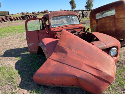 Antique Truck Cab Shell