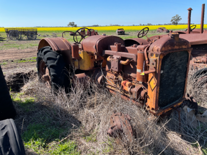 Allis Chalmers A Model Tractor