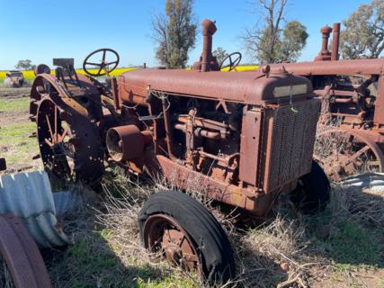 McCormick Deering WK-40 Tractor