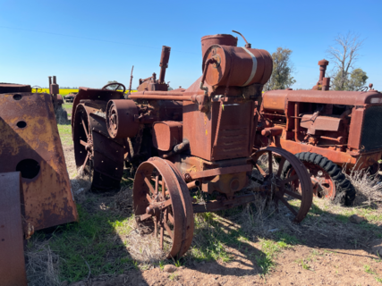 Rumley Oil Pull Type X Tractor