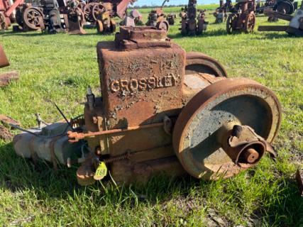 Crossley Stationary Engine