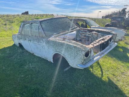 Ford Cortina 4 Door Car with No Motor