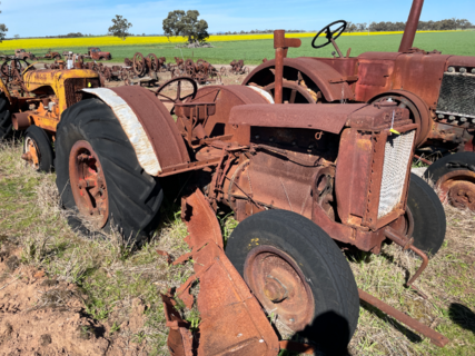 Case C Model Tractor
