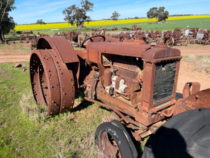 McCormick Deering W12 Tractor